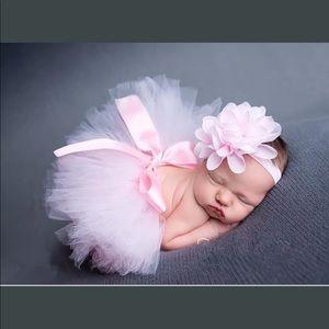 Other - NWTR baby tutu and flower headband